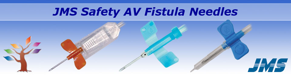 JMS Safety AV Fistula Needles